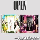 Kwon Eun Bi Mini Album Vol. 1 - OPEN (IN + OUT Version) + 2 Posters in Tube