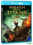 Wrath of the Titans (Blu-ray) (2D + 3D) (Korea Version)