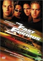 The Fast And The Furious (2001) (DVD) (Hong Kong Version)
