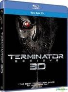 Terminator: Genisys (2015) (Blu-ray) (3D) (Hong Kong  Version)