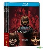 Annabelle 3-Movie Collection: Annabelle & Annabelle: Creation & Annabelle Comes Home (Blu-ray) (3-Disc) (Korea Version)