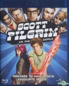 Scott Pilgrim vs. the World  (2010) (Blu-ray) (Hong Kong Version)