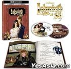 Labyrinth (1986) (4K Ultra HD + Blu-ray) (35th Anniversary Edition) (Taiwan Version)