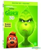 The Grinch (2018) (2D + 3D Blu-ray) (2-Disc) (First Press Limited Outcase + Character Card + Activity Sheet) (Korea Version)