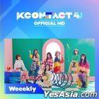 Weeekly - KCON:TACT 4 U Official MD (AR & Behind Photo Set)