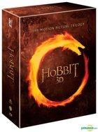 Hobbit Trilogy (Blu-ray) (12-Disc) (2D + 3D) (Outbox) (Limited Edition) (Korea Version)