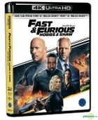 Fast & Furious Presents: Hobbs & Shaw (4K Ultra HD + 3D + 2D Blu-ray) (First Press Limited Edition) (Korea Version)
