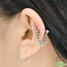 G-Dragon Style - Drian Cartilage Earring (Silver)