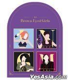 Brown Eyed Girls - Badge Set