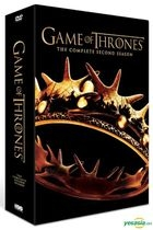 Game Of Thrones (DVD) (The Complete Second Season) (Korea Version)