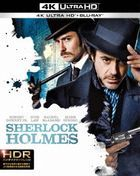 Sherlock Holmes (2009) (4K Ultra HD + Blu-ray) (Japan Version)
