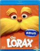 The Lorax (2012) (Blu-ray) (Hong Kong Version)