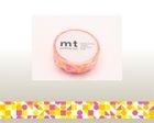 mt Masking Tape : mt 1P Circle Triangle & Square (Pink)