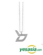 Block B Style - Simple Logo Necklace (Silver)