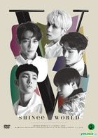 SHINee WORLD V in SEOUL (2DVD + Special Color Postcard Book) (Taiwan Version)