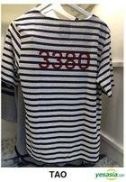 EXO - Stardium Playground Stripe T-Shirt (Tao / Black) (One Size)