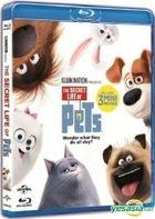 The Secret Life of Pets (2016) (Blu-ray) (Hong Kong Version)