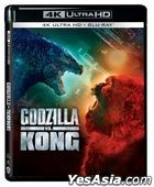 Godzilla vs. Kong (2021) (4K Ultra HD + Blu-ray) (Hong Kong Version)