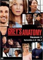 Grey's Anatomy (DVD) (Season 1) (Vol.1) (Japan Version)