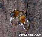 BTS : Jimin Style - Parmin Earrings (Brown Pair)