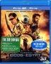 Gods of Egypt (2016) (Blu-ray) (2D + 3D) (Hong Kong Version)