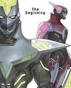TIGER & BUNNY The Movie - The Beginning - (DVD) (English Subtitled) (First Press Limited Edition)(Japan Version)