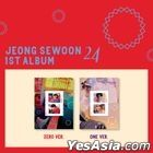 Jeong Se Woon Vol. 1 - 24 Part.2 (Zero + One Version) + 2 Posters in Tube
