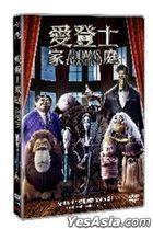 The Addams Family (2019) (DVD) (Hong Kong Version)