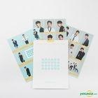 BOYS24 Official Goods - Sticker Set (Yellow)