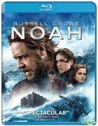 Noah (2014) (Blu-ray) (Hong Kong Version)