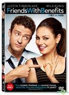 Friends With Benefits (2011) (DVD) (Korea Version)