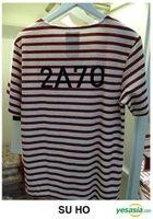 EXO - Stardium Playground Stripe T-Shirt (Su Ho / Red) (One Size)