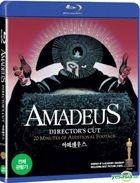 Amadeus (Blu-ray) (Director's Cut) (Korea Version)