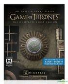 Game Of Thrones (Blu-ray + Digital HD) (Ep. 1-10) (The Complete First Season) (Steelbook) (US Version)