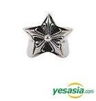 Big Bang & EXO Style - Silver Star Ring (7 1/2 - 8)