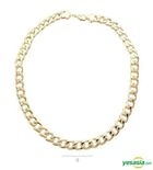 G-Dragon Style - Golden Wave Necklace (Small)