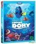 Finding Dory (Blu-ray) (2-Disc) (Korea Version)