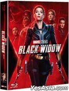 Black Widow (Blu-ray) (Full Slip Steelbook Limited Edition) (Korea Version)