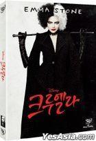 Cruella (DVD) (Korea Version)