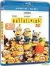 Minions (2015) (Blu-ray) (2D + 3D) (Hong Kong Version)