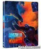 哥斯拉大戰金剛 (2021) (4K Ultra HD + Blu-ray) (Steelbook) (香港版)