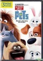 The Secret Life of Pets (2016) (DVD) (US Versioin)