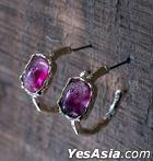 BTS : Jimin Style - Parmin Earrings (Pink Pair)