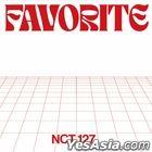NCT 127 Vol. 3 Repackage - Favorite (Random Version) + Random Poster in Tube