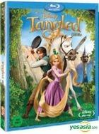 Tangled (Blu-ray) (Korea Version)