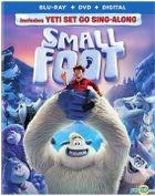Smallfoot (2018) (Blu-ray + DVD + Digital) (US Version)