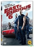 Fast and Furious 6 (DVD)  (Korea Version)