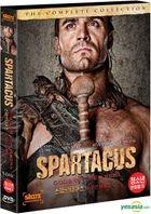 Spartacus : Gods Of The Arena (DVD) (3-Disc) (Korea Version)