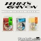 OMEGA X Single Album Vol. 1 - WHAT'S GOIN' ON (E + F + S Version) + 3 Posters in Tube