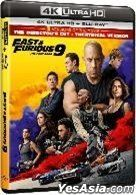 Fast & Furious 9 (2021) (4K Ultra HD + Blu-ray) (Director's Cut) (Hong Kong Version)